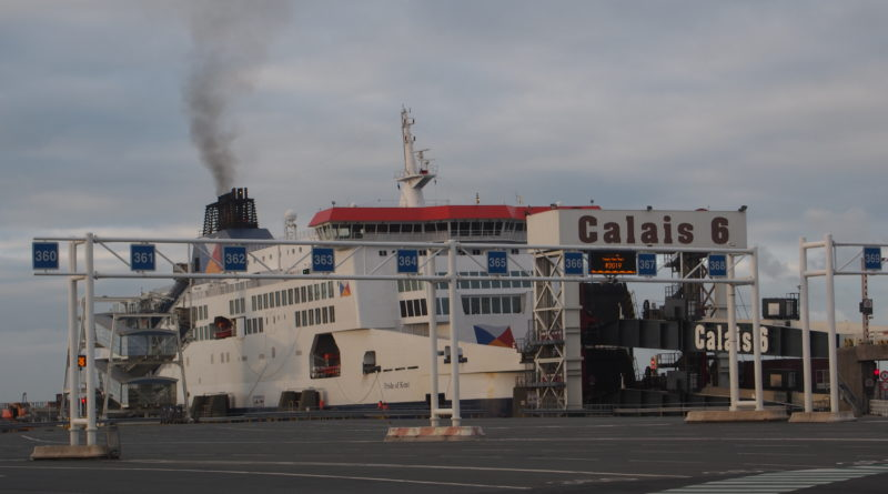 Ferry Calais Port Emissions CO2
