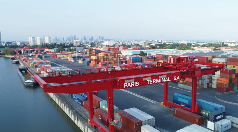 Haropa: À Paris, le trafic a progressé de 13%