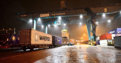 Mærsk lance le premier train direct entre Rotterdam et Xian, au centre de la Chine