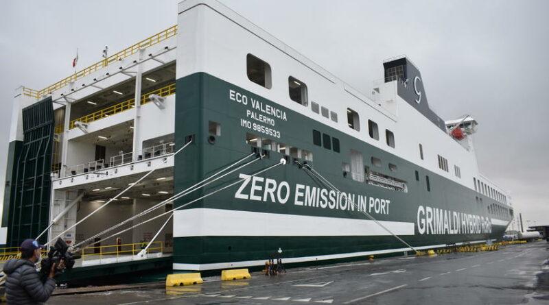 L'Eco Valencia, le navire écologique du groupe Grimaldi