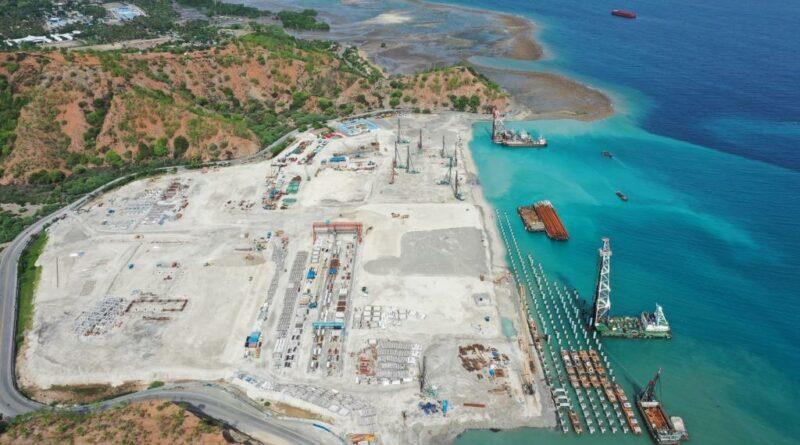 Bolloré Ports Tibar Bay ZPMC