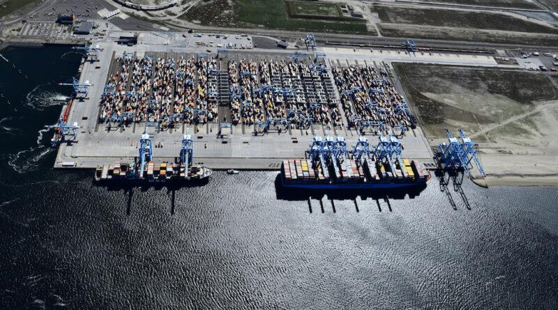 Port Rotterdam Conteneurs