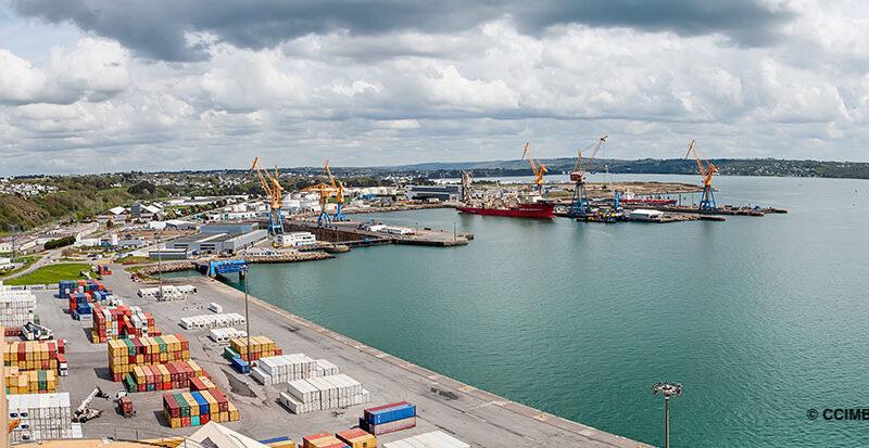 Port Brest CCIMBO conventionnelles Conteneurs vracs agroalimentaires