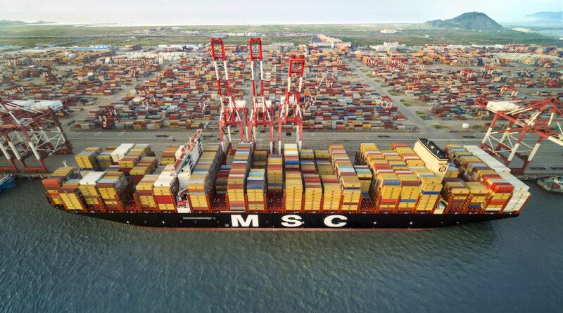 MSC Conteneurs Port