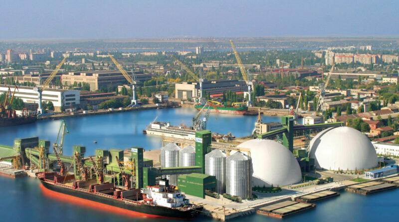 Grain céréales port Ukraine
