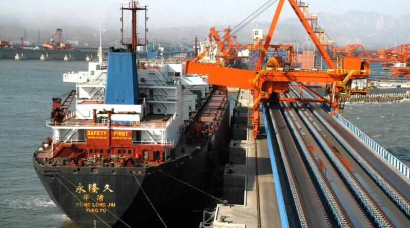 Port coal Chine