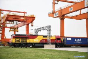 Ferroviaire Chine Europe Conteneurs