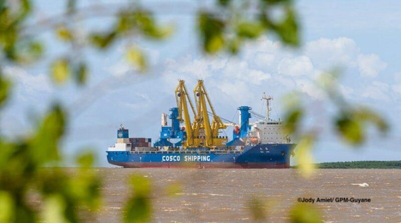 GPM Guyane Grues Port Dison