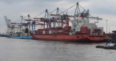 Hamburg Port Conteneurs Hamburg Sud