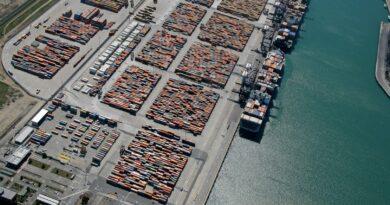 Conteneurs Ports Europe fret