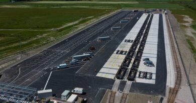 CargoBeamer Rail Port Calais