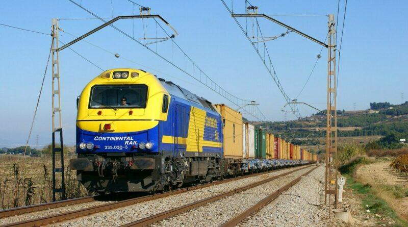CMA CGM Continental Rail Ferroviaire Port Conteneur