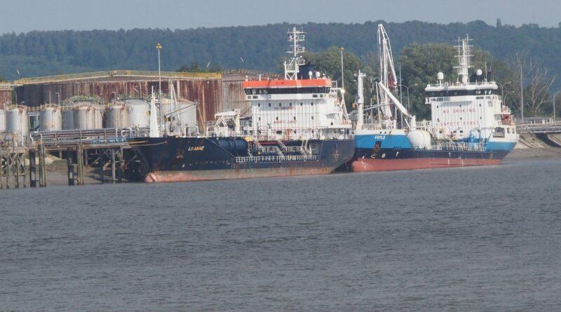 Haropa Port trafic vracs liquides conteneurs
