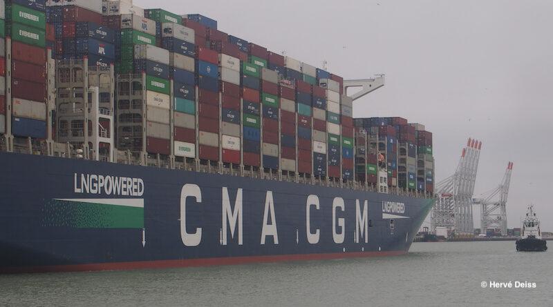CMA CGM investi dans les ferries et les ports