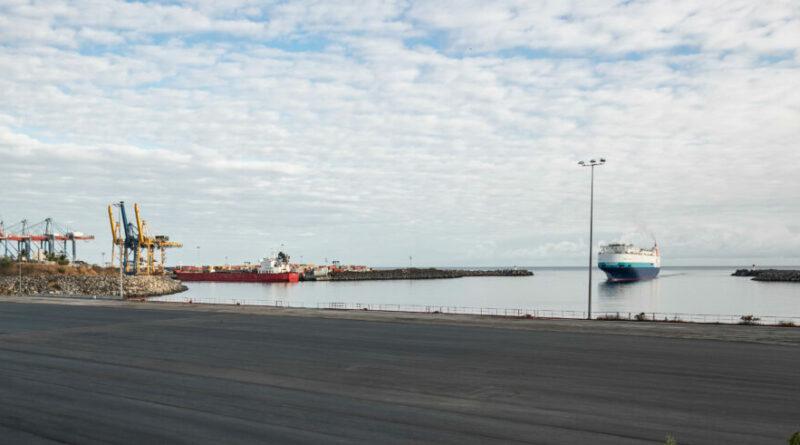 Port Réunion conteneur Terre-plein