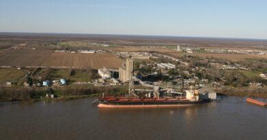 Port Louisiane Cargill Ouragan Ida