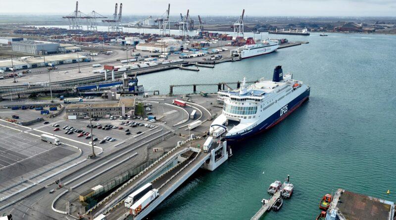 GPM Dunkerque DFDS Transmanche Irlande